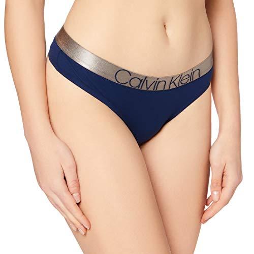 Calvin Klein Unisex Thong Dessous, Neue Marine, M