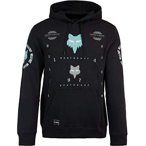 Fox Mawlr - Sudadera con capucha para hombre negro M