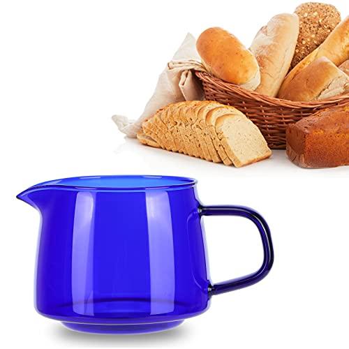 Hatirea Tetera, Taza para Compartir con Aislamiento térmico, práctica de 300 ml para Oficina, Accesorios de café para Vasos para el hogar(Blue)