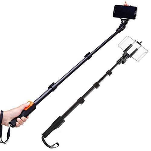 Sconosciuto Generic Yunteng 1288 Selfie Stick Handheld Monopod with Phone Holder And Bluetooth Shutter for Camera Phone