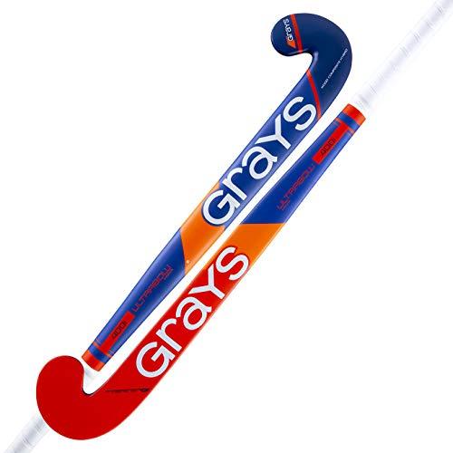GRAYS 400i Stick Indoor Grashockey, Erwachsene, Unisex, Royal/Red Fluor, 36,5 l