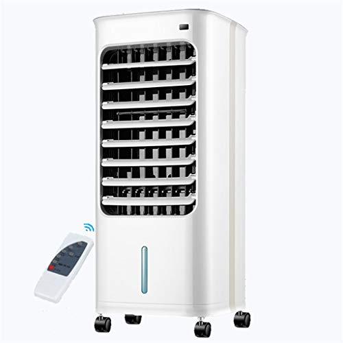 TESITE Aire Acondicionado PORTATIL Ventilador Ventilador con Doble Uso Frío Y Caliente/con Mando/7 Horas Temporizador/Silencioso/para interio Cocina al Aire Libre