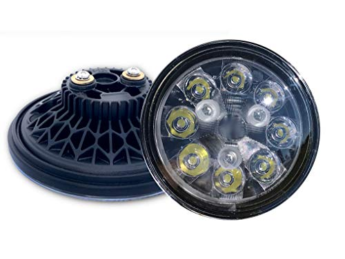 High Performance 2,100 Lumen LED PAR36 Direct Replacement Spot/Landing Light Bulb | 10-30VDC