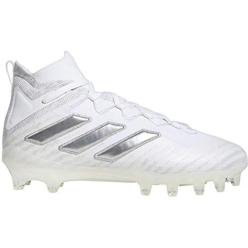 adidas Freak Ultra 20 Cleat - Men's Football White/Silver Metallic/Clear Grey