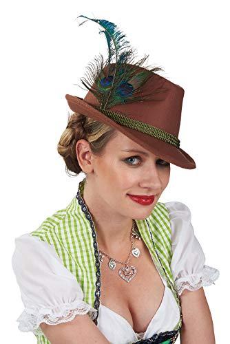 Andrea Moden 3565303 Trachten-Hut, womens, bunt, Einheitsgröße
