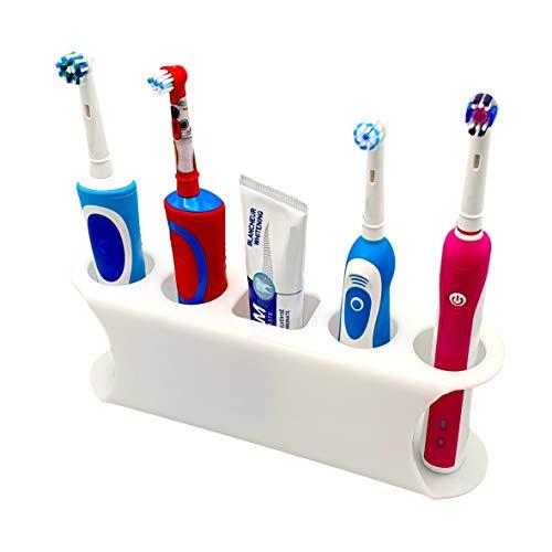 SmartProduct Selbstklebende Zahnbürstenhalter für Elektrische Zahnbürste, Model D