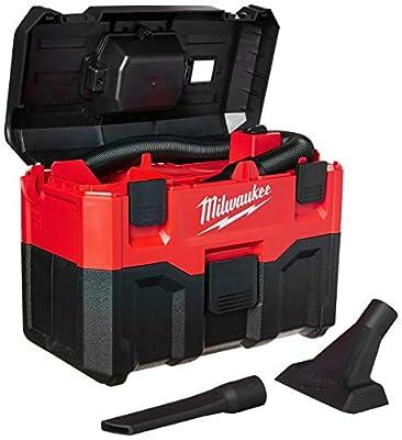 Milwaukee 0880-20 18-Volt Cordless Wet/Dry Vacuum, Red