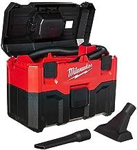 MILWAUKEE'S 0880-20 18-Volt Cordless Wet/Dry Vacuum, Red