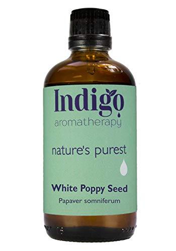 Indigo Herbs Aceite de Semilla de Amapola Blanca 100ml (Prensado en Frío)