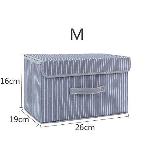 nobrand Faltbare Vlies-Aufbewahrungsbox für Spielzeug-Vorratsbehälter mit Schließfach