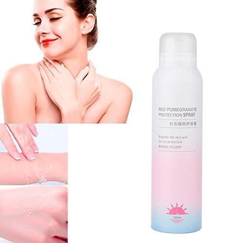 Zonweringspray, vochtinbrengende zonnebrandspray, voedt de huid donker en veroudert, beschermt de huid tegen de huid.