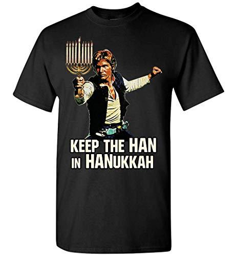 Star War Keep The Han in Hanukkah T-Shirt Custom Personalized