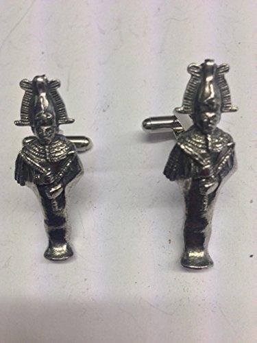 Osiris Ägyptischer Gott Figur we-ep1English Pewter Manschettenknöpfe
