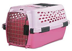 image of Petmate Small dog pink crate