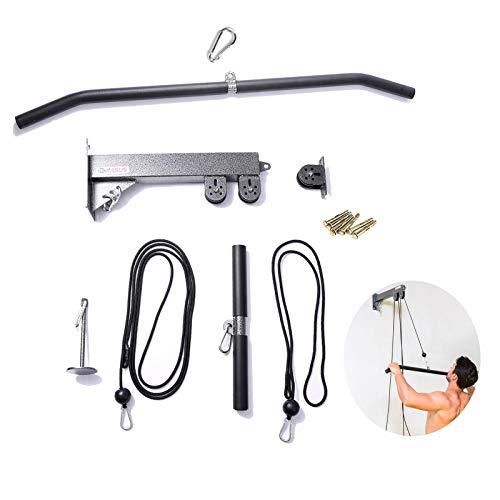 ZLLF Barra Triceps DIY de Pared LAT polea de Cable Accesorios de...