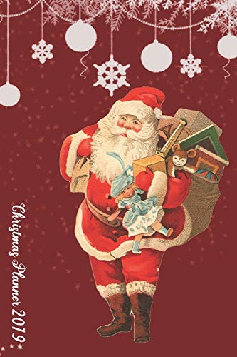 Ultimate Christmas Planner  2019 | Christmas Shopping Tracker | Santa Claus Theme: Santa Organiser Budgets Shopping Lists & Christmas Budget Planner, ... Wish List Gift Card Address Book and Tracker