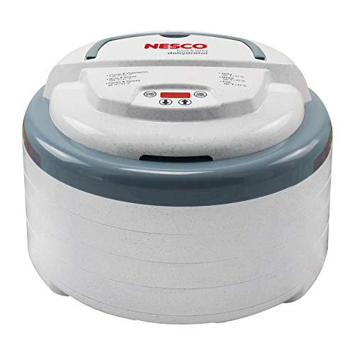 NESCO Snackmaster Digital Food Dehydrator, FD-79 , Grey