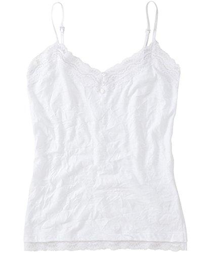 Joe Browns Women's Camisole Vest top with lace Trim (8) Wh