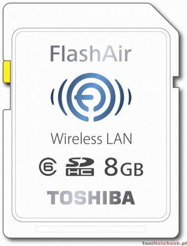 Toshiba Flash Air Class 6 SDHC Speicherkarte 8GB