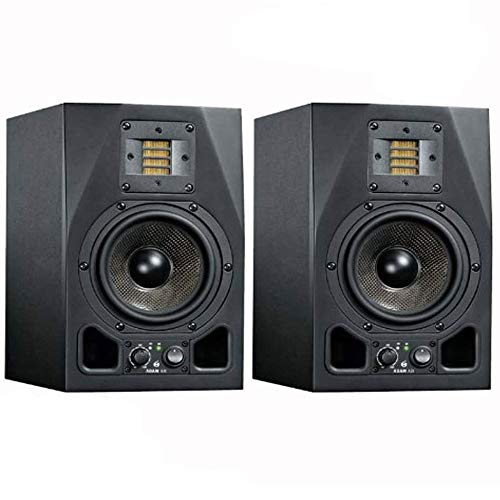 "Adam Audio A3X 4.5"" 50W Active 2-Way Studio Monitor (Pair) wth 1 Year Free Extended Warranty"