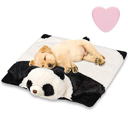 Z-vine Dog Toy Heartbeat Plush Toys for Dogs - Helps with Dog Anxiety, Separation, Stress Relief, Barking, Thunderstorms and More - Behavioral Training Aid Toy