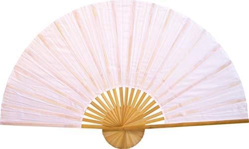 Medium 40' Folding Wall Fan - Solid White Unpainted - Original Wall Fan