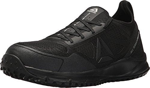 Reebok mens All Terrain Work Safety Toe Trail Running Work Industrial Shoe, Black, 16 US