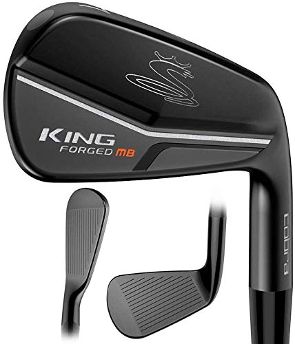 Cobra Golf 2019 King Forged CB/MB Iron Set (4-PW, Right Hand, Stiff Flex)