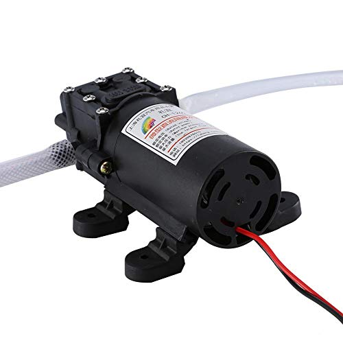 HURRISE Electric Fuel Pump Oil Extractor, Portable 12V 60W Self Priming Pump kit Oil Fluid Diesel Transfer Scavenge Extractor with Hose for Car Boat Motorbike
