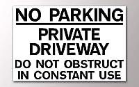 屋外の駐車場の私道のためにパーソナライズされた堅い、男の洞窟屋内屋内ホームプラークシックなポスターを妨げないでください