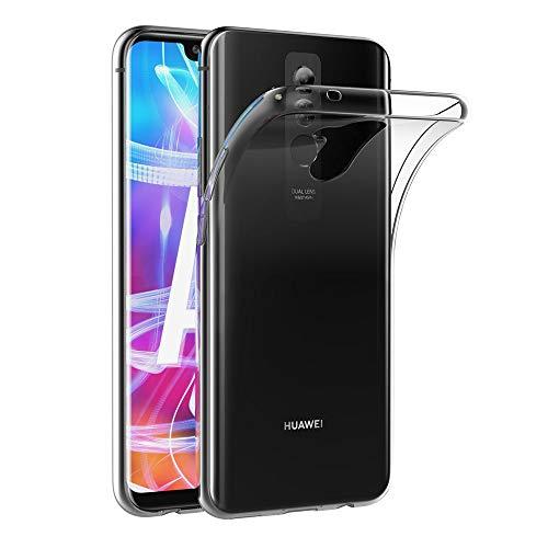 AICEK Huawei Mate 20 Lite Hülle, Transparent Silikon Schutzhülle für Huawei Mate 20 Lite Hülle Clear Durchsichtige TPU Bumper Huawei Mate 20 Lite Handyhülle (6,3 Zoll)