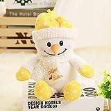 ahzha Cartoon Plüsch Spielzeug Santa Weihnachten Geschenk Q Version Schneemann Puppe Urlaub...