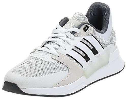 Adidas Run90S, Zapatillas de Running para Hombre, Multicolor (Ftwbla/Ftwbla/Blapur 000), 40 2/3 EU