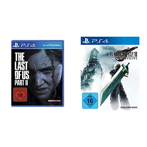 The Last of Us Part II - Standard Edition [PlayStation 4] (Uncut) & Square Enix Final Fantasy VII HD Remake (Playstation 4)