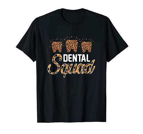 Escuadrn Dental Disfraz Asistente Dental Mujeres Camiseta
