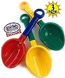 "Best Beach Shovels - Matty's Toy Stop 10.5"" Kids Multi-Color Sand Scoop Review"