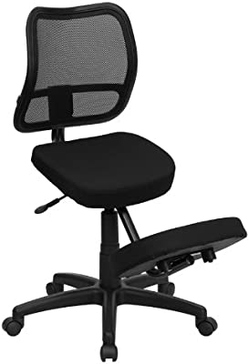 Amazon Com Contemporary Mid Back Chair Computer Desk Task