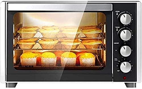 35L Mini horno Temperatura ajustable 0-230 ℃ 120 Minutos Tiempo Tres capas Posición de hornear Horneado Hogar Multifuncional Automático Horno eléctrico