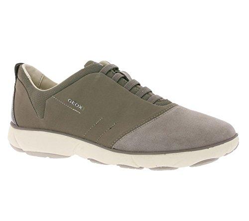 GEOX Respira Schuhe Sneaker Halbschuhe Turnschuhe D Nebula G Braun, Größenauswahl:37