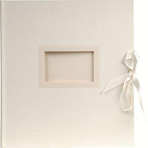Exacompta 11154E fotoalbum Kingsbridge (29 x 32 cm, 300 foto's, 60 pagina's) wit