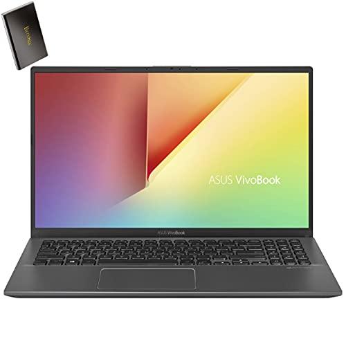 ASUS Vivobook 15 15.6  FHD Laptop Computer, Intel Quard-Core i7 1065G7 up to 3.9GHz, 20GB DDR4 RAM, 1TB PCIe SSD + 1TB HDD, AC WiFi, Bluetooth, Webcam, Grey, Windows 10 S, BROAGE 500GB External HD