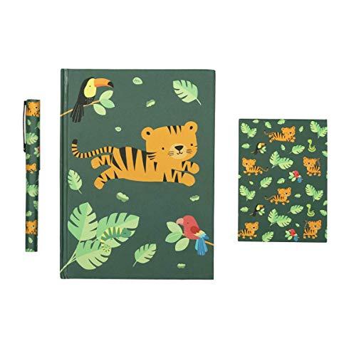 Set papeterie Tigre - A Little Lovely Company