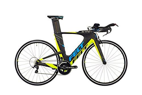 Felt IA 14 matt carbon Rahmengröße 54 cm 2016 Triathlonrad