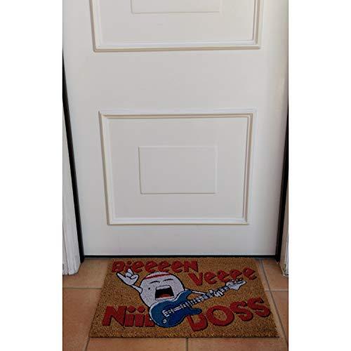 Koko DOORMATS felpudos Entrada casa Originales, Fibra de Coco y PVC, Felpudo Exterior BIENVENIDOS, 40x60x1.5 cm   Alfombra Entrada casa Exterior   Felpudos Divertidos para Puerta