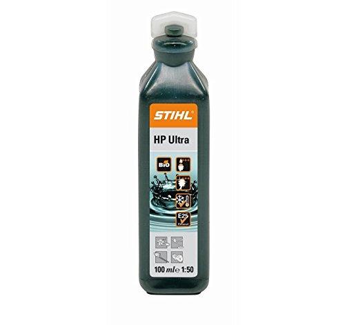 Motoröl von Stihl für Zweitaktmotoren, Teile-Nr. 0781 319 8060, 3 x 100ml-Flaschen
