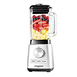 5 automatic programmes for easy use including Auto-clean function. Unique blender mix system produces anultra fine blend. Thermo-resistant Borosilicate glass jug for blending hot and cold mixtures. Easy to clean, with dishwasher safe jug and pre-pro...