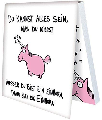 Klebezettel Notizzettel Sei ein Einhorn (Sei ein Einhorn)