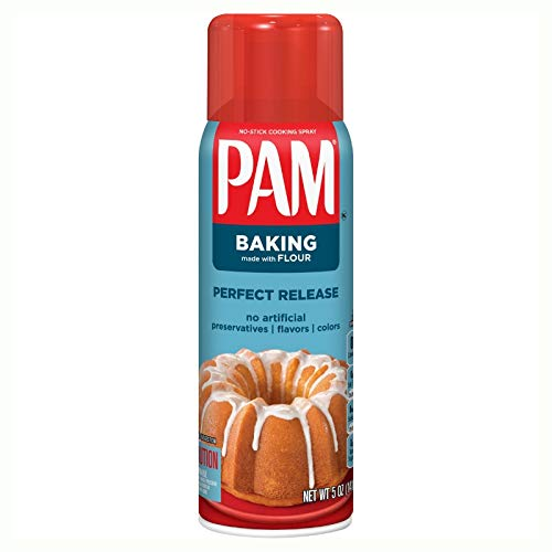 PAM Baking Cooking Spray 5 oz (Pack of 3)