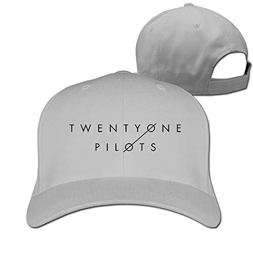 YVES Twenty One Pilots Vessel Cool Hat Plain Baseball Cap Ash