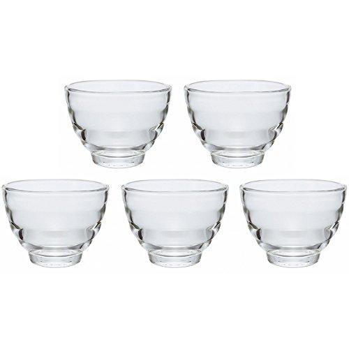 HARIO(ハリオ) 耐熱ガラスカップ5個セット 電子レンジ/オーブン/食洗機対応 170ml 日本製 HU-3012